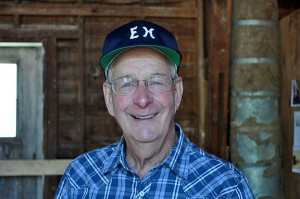 Historian of the year honoree Peter LeMere.
