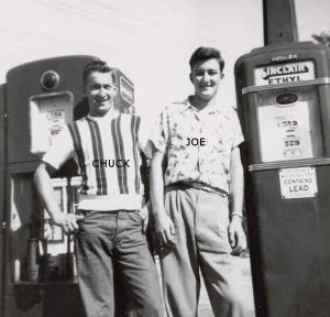 Chuck and Joe Bogenschutz.
