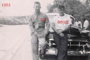 Joe and Bogie 1953