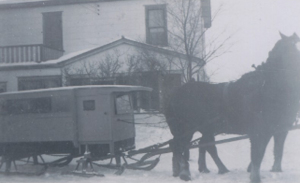 William Martens Winter School Bus