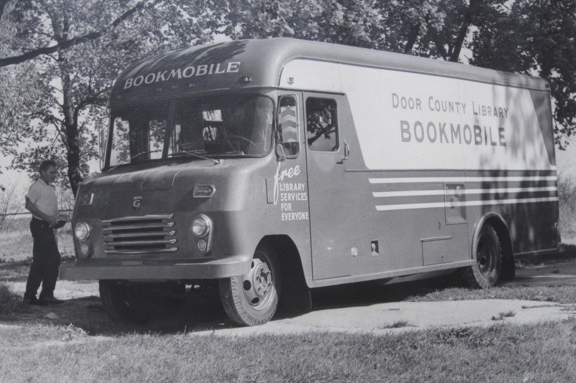The Bookmobile in better days.