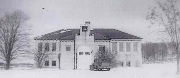 The Egg Harbor School in the 1940s.